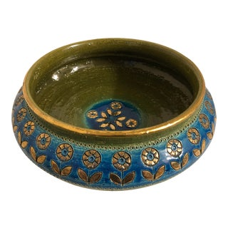 1960s Italian Pottery Bowl For Sale