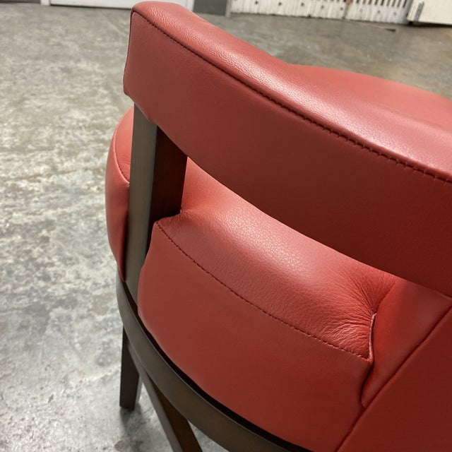 Wheeler Design Group Counter Stools - a Pair For Sale - Image 10 of 12