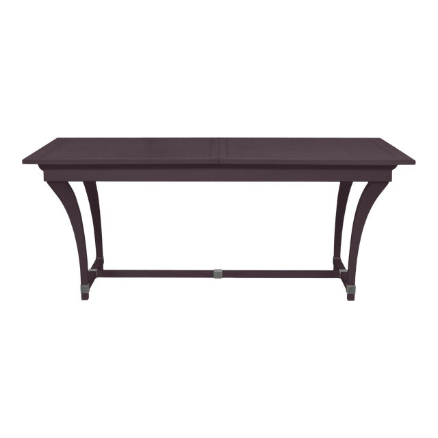 Casa Cosima Living Rhodes Dining Table - Dark Basalt For Sale