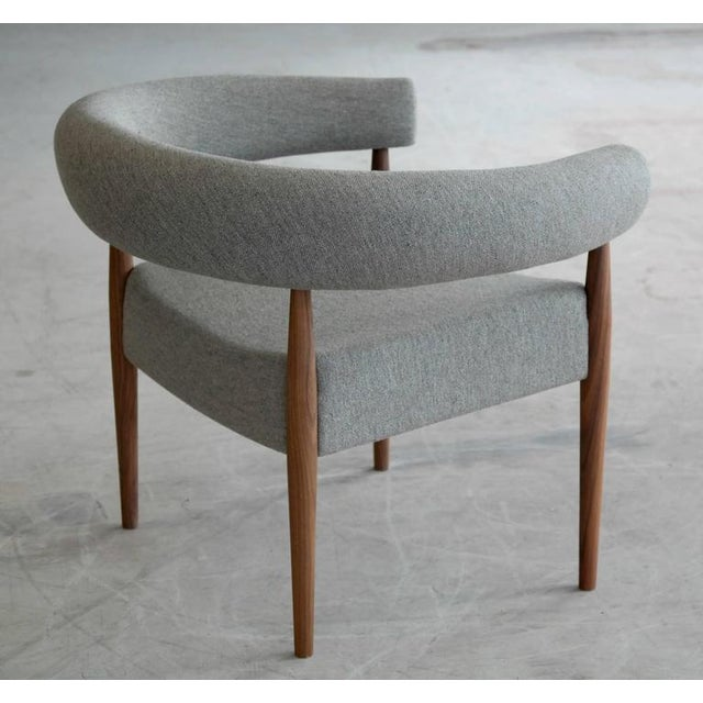 Wood Nanna Ditzel Ring Chair for Getama For Sale - Image 7 of 9