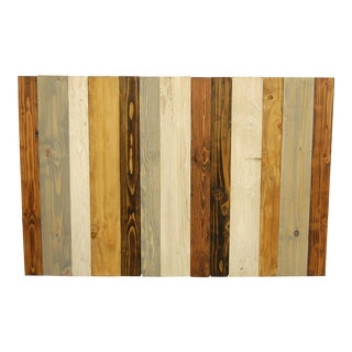 Rustic MIX Design Full Headboard Hanger Style