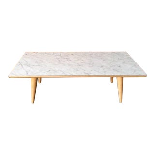 Contemporary Mid-Century Modern Style Formica Coffee Table