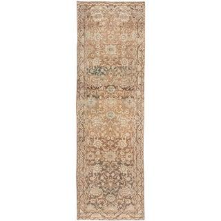 "Apadana-Antique Persian Distressed Rug, 4'4"" X 14'3"""