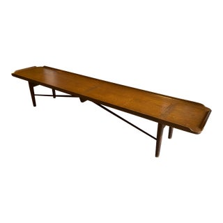 Vintage Finn Juhl Walnut Bench For Sale
