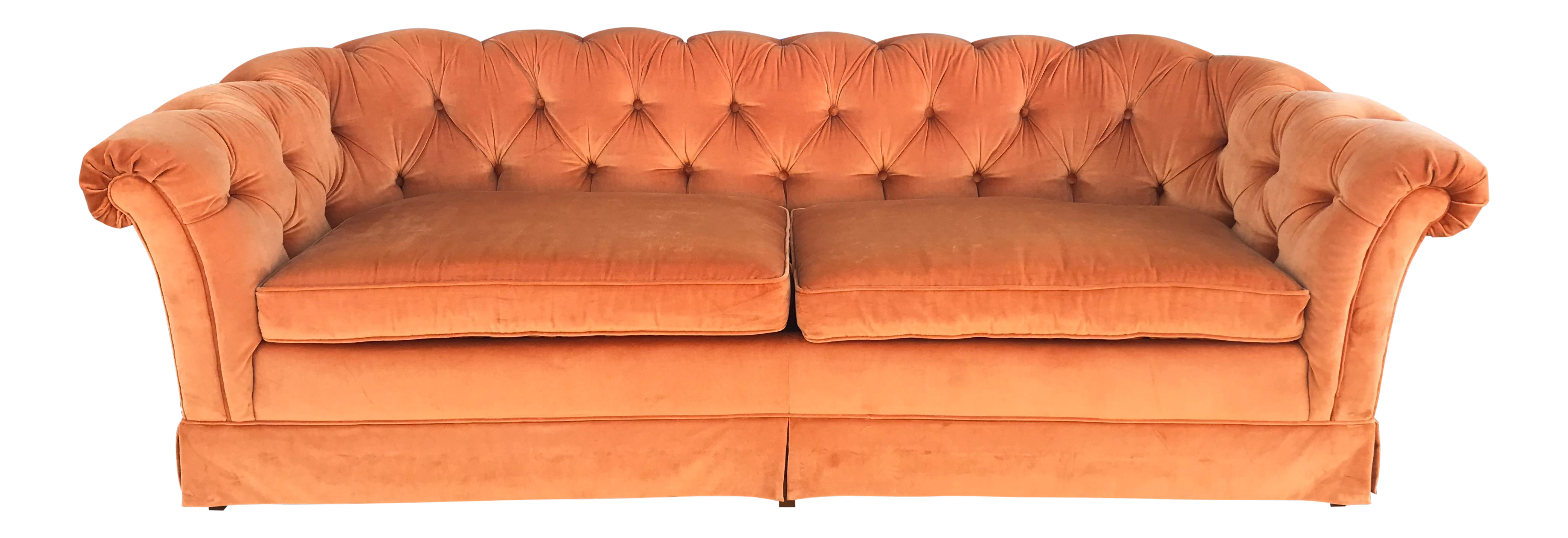 Vintage Drexel Heritage Chesterfield Style Sofa