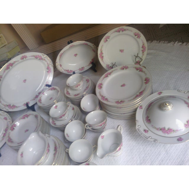 Orion Fine China Dinnerware Set - 89 Pieces - Image 9 of 11