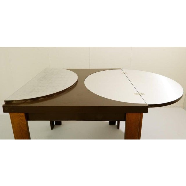 1970s Extending Dining Table For Sale - Image 5 of 9