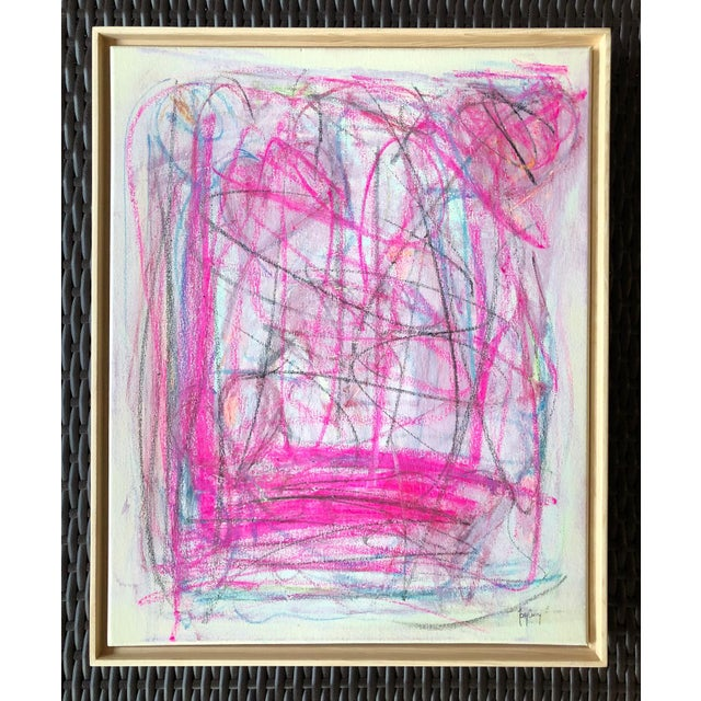 """Abstract """"Love"""" Modern Abstract Painting by Tony Curry For Sale - Image 3 of 3"""