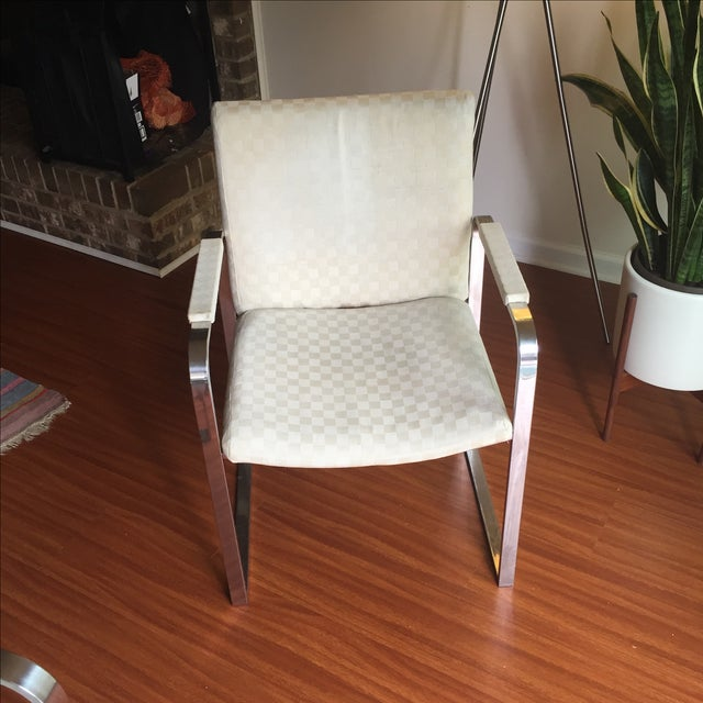 Milo Baughman Vintage Accent Chairs - Pair - Image 11 of 11