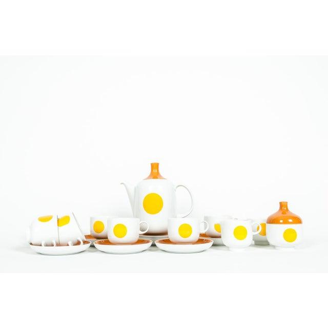 Mid-Century Modern German Tea / Coffee Service - 18 Pc. Set For Sale - Image 10 of 10