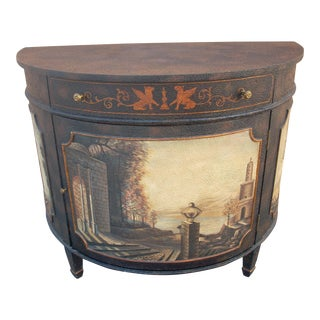 Maitland Smith Demilune Chest For Sale