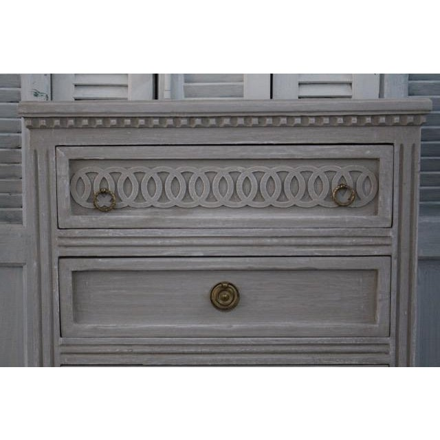 20th Century Swedish Gustavian Style Nightstands - A Pair For Sale - Image 10 of 12