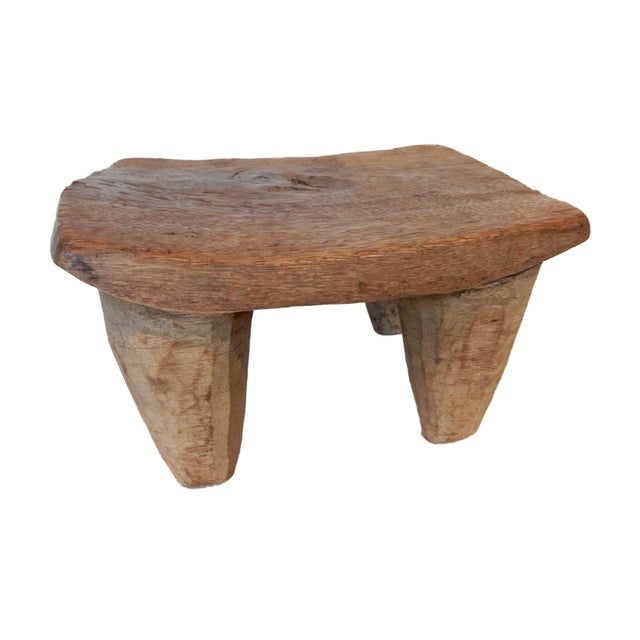 Vintage Senufo Low Milk Stool - Image 6 of 8