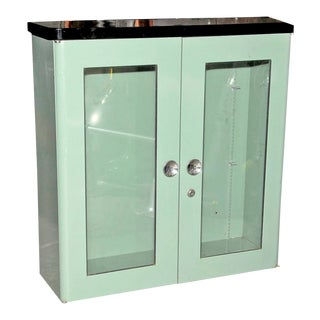 Art Deco Style Medicine Cabinet For Sale