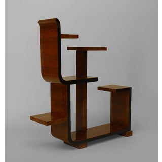 French Art Deco Walnut Small Etegere (Tier Table) Preview