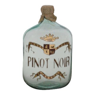 Painted Pinot Noir Wine Bottle