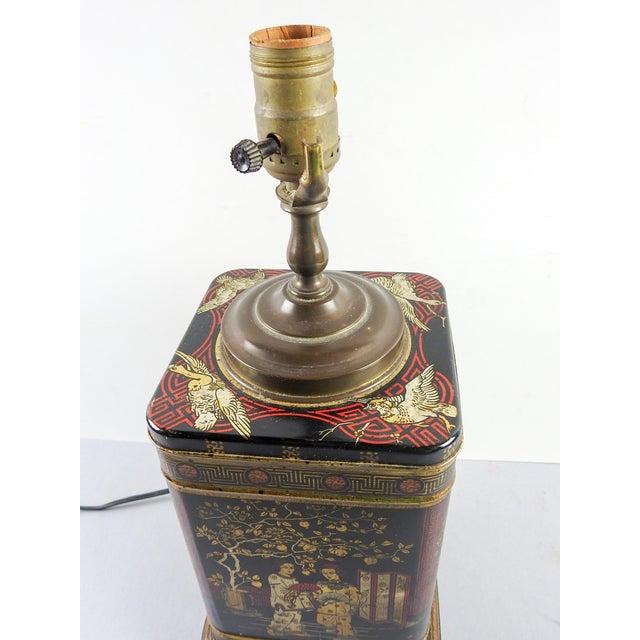Wildwood chinoiserie tea tin table lamp chairish for Table 6 wildwood mo