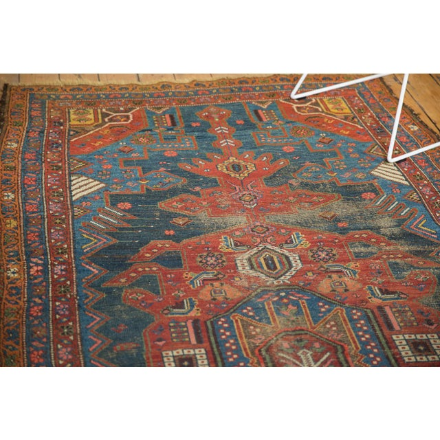 "Antique Hamadan Rug - 4'9"" X 7'11"" - Image 8 of 13"