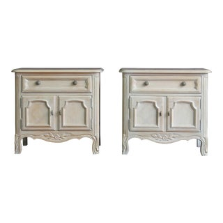 Drexel French Provincial Nightstands-a Pair For Sale