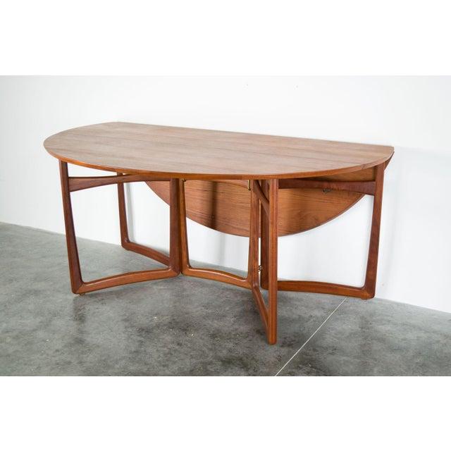1960s Spectacular Peter Hvidt & Orla Molgaard-Nielsen, C. 1960 Teak Dining Table For Sale - Image 5 of 13