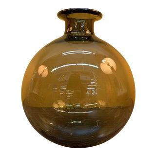 Vintage Mid-Century Modern Norwegian Smoke Vase For Sale