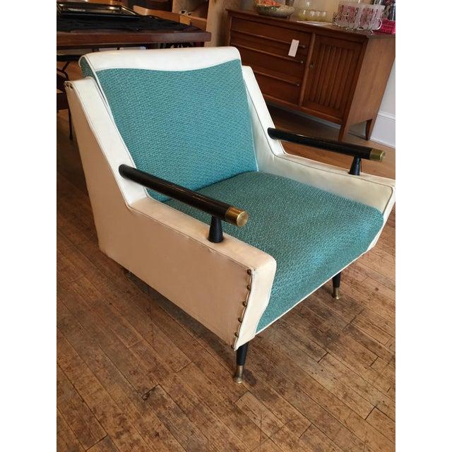 Mid Century Atomic Era Club Chair - Image 3 of 6