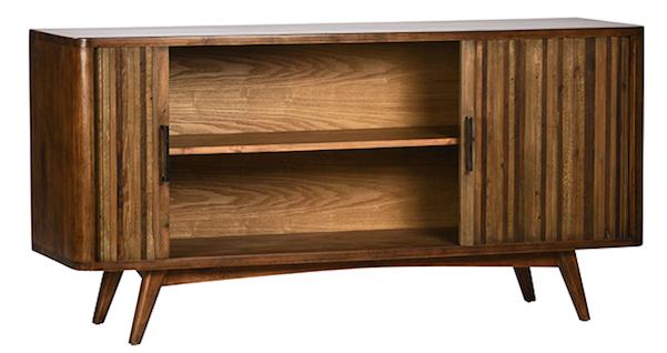 Mid Century Style Sliding Doors Sideboard Chairish