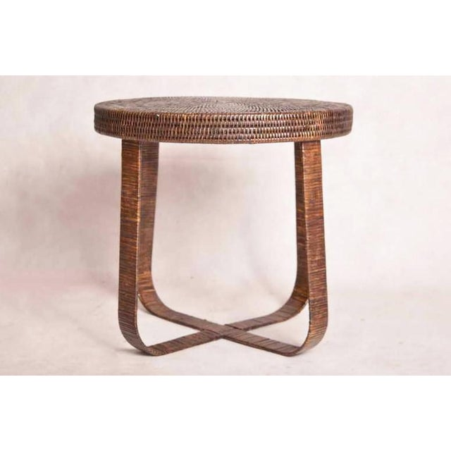 brand new e9d5f 9c5ff Boho Chic Artifacts Rattan Side Table