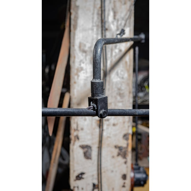Restoration Hardware Mid Century Style Swing Arm Lamp For Sale In Chicago - Image 6 of 7