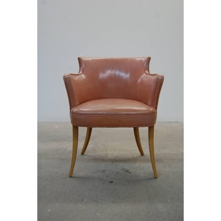 Early Dunbar Dining Chairs in Leather - Set of 4 Preview