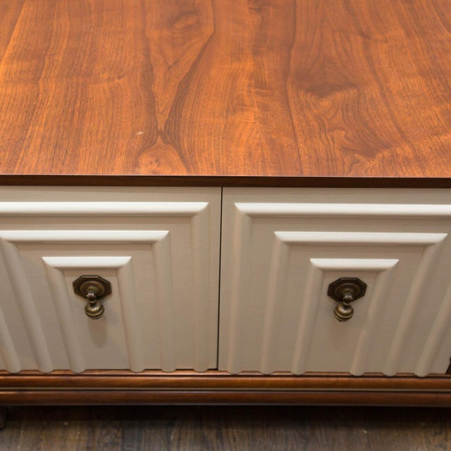 1960s Renzo Rutili for Johnson Furniture Mid-Century Cabinet Bench For Sale - Image 5 of 10
