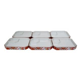 Imari Porcelain Luncheon Plates, Set of 6 For Sale