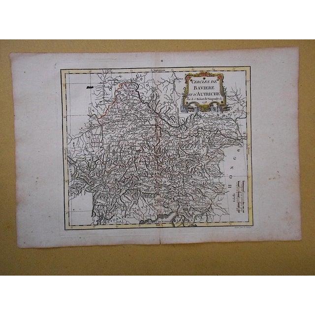 18th C. Antique Map of Germany (Bavaria) & Austria - Image 3 of 3