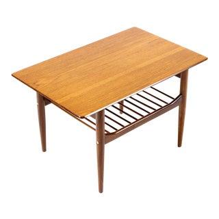 Ib Kofod Larsen For G Plan Mid Century Rectangular Teak Side Table For Sale