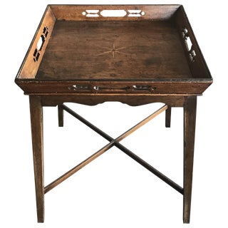Late 18th Century Antique George II Tray Table For Sale