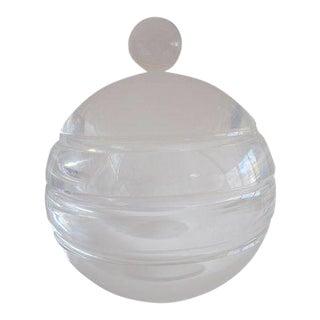 Dorothy Thorpe Style Lucite Ice Bucket