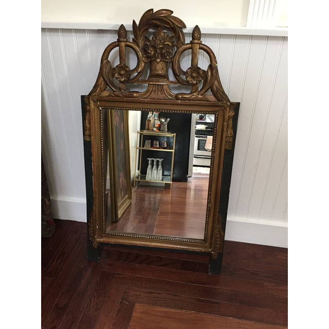 Vintage French Neoclassical Gold Mirror - Image 3 of 6