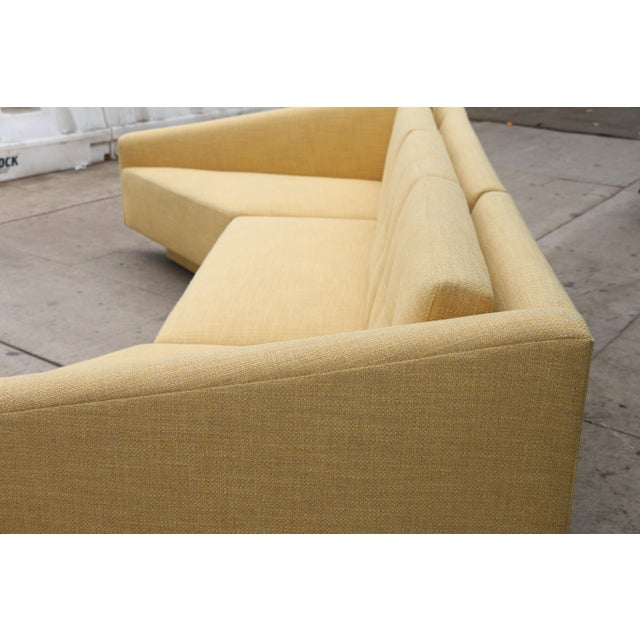 Yellow Sectional Sofa For Sale - Image 11 of 11