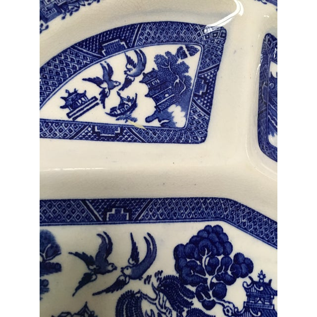 Vintage Blue Willow Romarco Plates - Set of 4 For Sale - Image 7 of 8