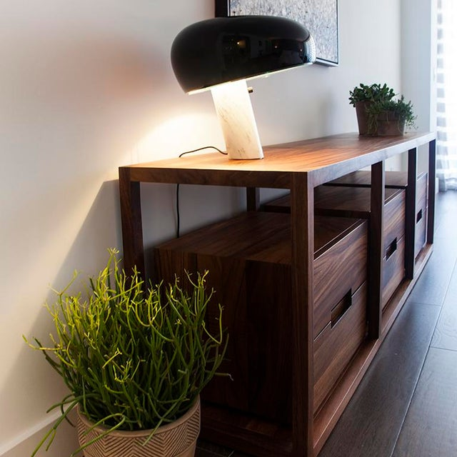 Bodega Console, Cenicero and Conacaste Solid Wood For Sale - Image 4 of 8