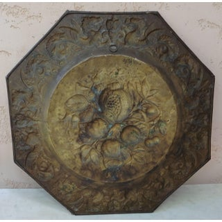 19th Century French Brass Fruits Platter Preview