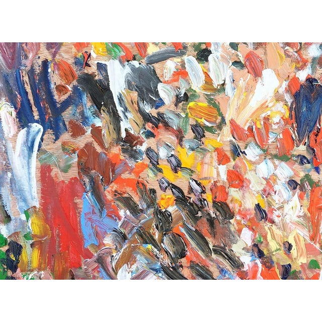 """Abstract """"Summer"""" Abstract Oil Painting by Sean Kratzert For Sale - Image 3 of 5"""