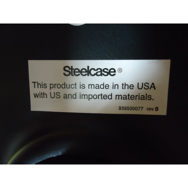 Brian Kane by Coalesse & Steelcase Modern Bindu Yellow Executive Conference Chair For Sale - Image 12 of 13