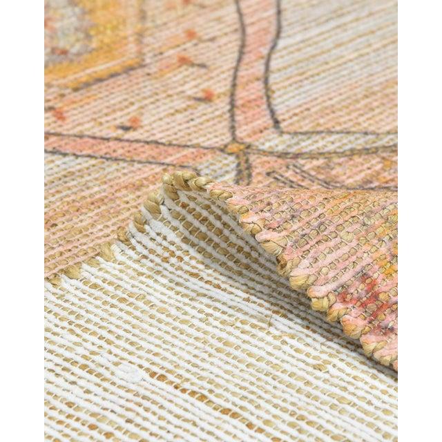 Naina, Bohemian Moroccan Hand Loom Area Rug, Blush, 9 X 12 For Sale - Image 4 of 9