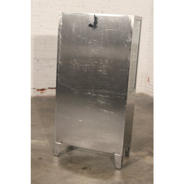 Stainless Steel Lit Medical Cabinet - Image 8 of 9