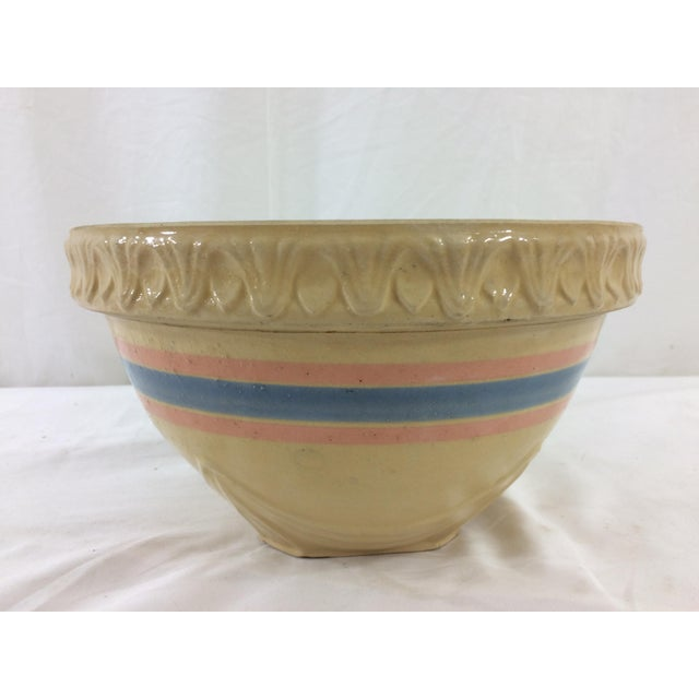 French Yellowware Bowl For Sale - Image 3 of 7