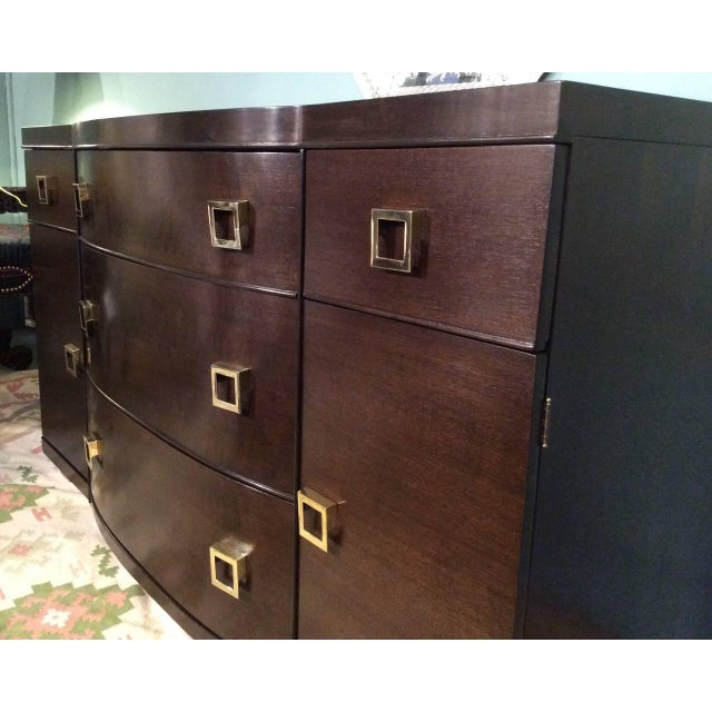 Mid-Century Bow Fronted Chest of Drawers - Image 5 of 10