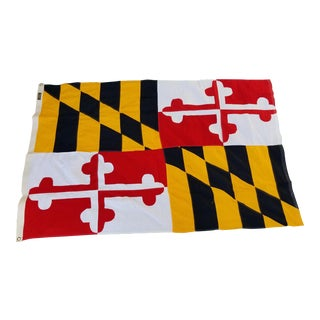Giant Maryland State Flag