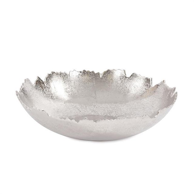 Kenneth Ludwig Silver Broken Edge Bowl / Wall Art For Sale In Chicago - Image 6 of 6