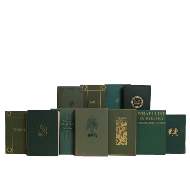 Boxwood Lyrics Book Set, S/20. Features a blend of twenty authentic vintage books published 1900-1940. Includes a variety...